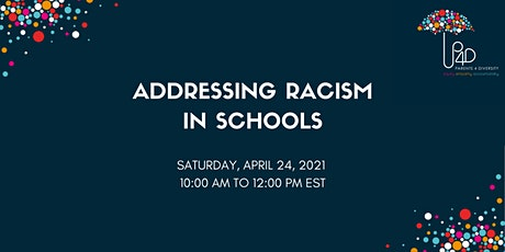 Addressing Racism in Schools tickets