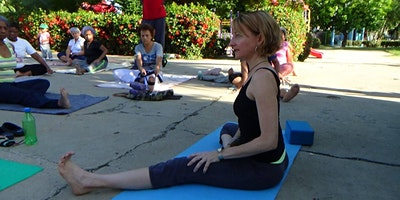 Gentle Yoga Happy Hour