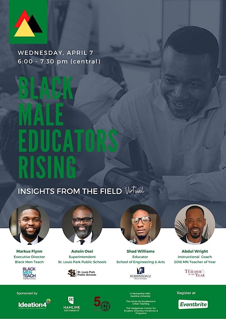 Black  Male Educators Rising image