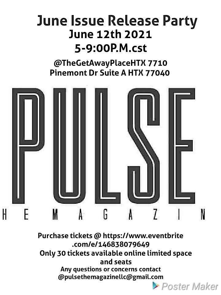 PulseTheMagazine June Issue Party image