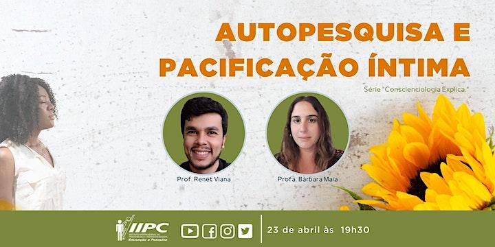 Imagem do evento Live - Autopesquisa e Pacificação Íntima