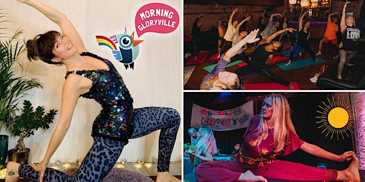 Morning Gloryville Sunrise Disco Yoga Flow image