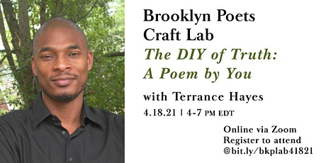 "Brooklyn Poets Craft Lab: ""The DIY of Truth: A Poem by You"" tickets"