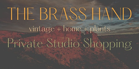 The Brass Hand Private Studio Shopping tickets
