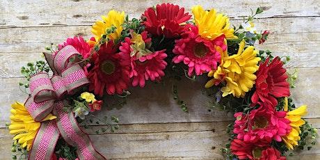 Spring Wreath virtual event tickets