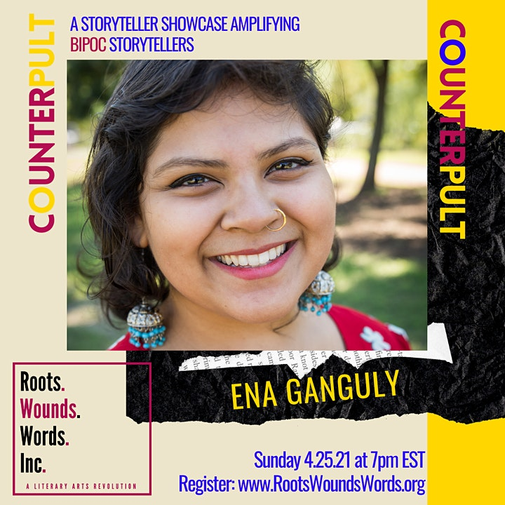 COUNTERpult: A Roots. Wounds. Words. Storyteller Showcase (April 2021) image