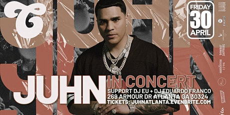 Juhn Live in Concert at District Atlanta tickets