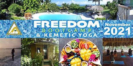 FREEDOM Bootcamp & Kemetic Yoga - November 2021 tickets