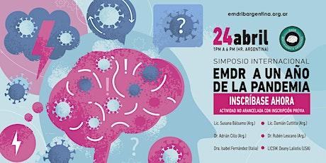 """Simposio Internacional - """"EMDR a un año de la pandemia """" tickets"""