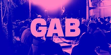 Gab #26 - A get together for creative folk tickets
