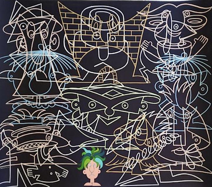 'Crowd Me, I'm Alone' Contemporary Art Exhibit image