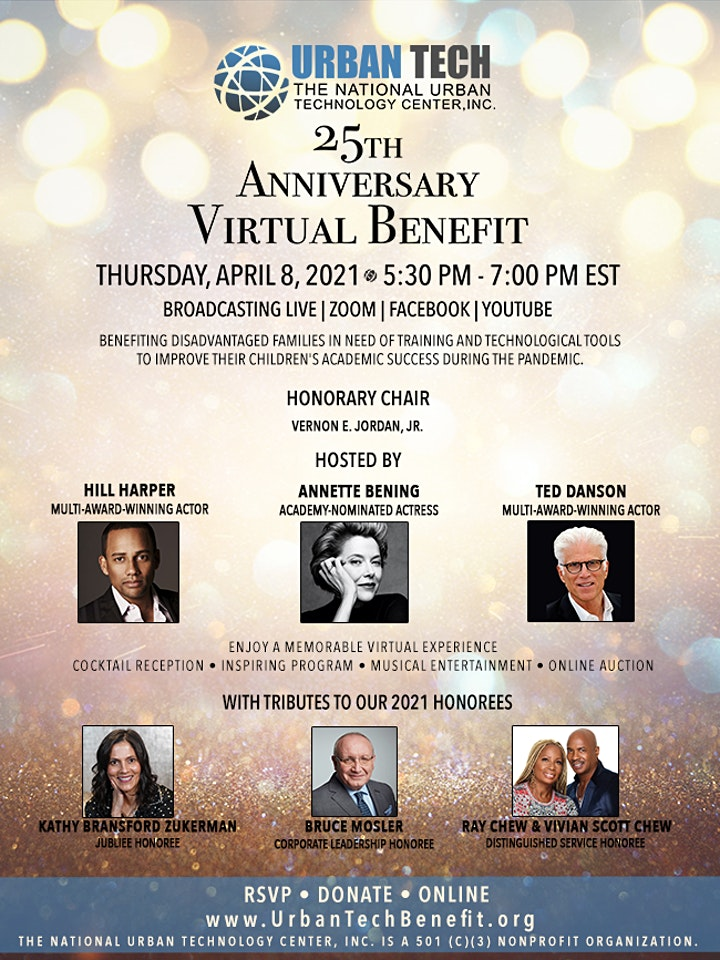 Urban Tech's 25th Anniversary Virtual Benefit image