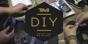 #TevaDIY at Shoe Biz Noe Valley