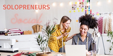 Solopreneurs Social - Women's Networking Event tickets