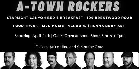 A-Town Rockers at Starlight Canyon tickets