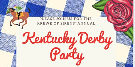 Talk Derby to Me!  Krewe of Sirens' Kentucky Derby Party tickets