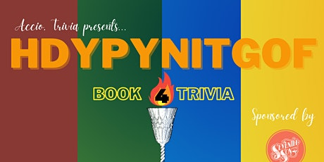 HDYPYNITGOF (Book 4 Trivia) tickets