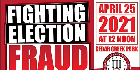 Fighting Election Fraud - Fight for America's Legacy tickets