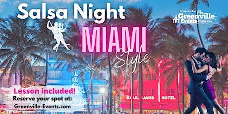 Salsa Night, Miami Style!  tickets