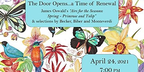 Marin Baroque presents The Door Opens...a time of renewal tickets