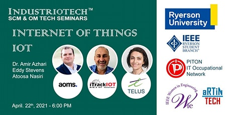 IndustrioTech© Seminars - Internet of Things (IoT) for Industry 4.0 Tickets