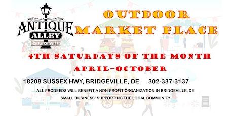 Antique Alley of Bridgeville OUTDOOR MARKETPLACE tickets