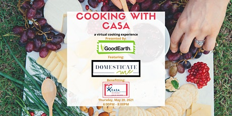 Cooking with CASA tickets