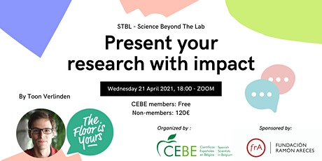 SBTL - Present your research with impact tickets