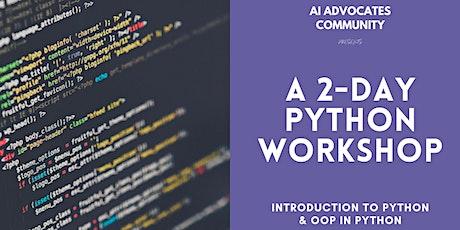 2-day Python  Workshop tickets