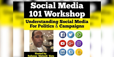 Social Media 101 Workshop for Political Campaigns Tickets