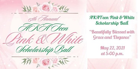 AKATeen Pink and White Scholarship Ball tickets