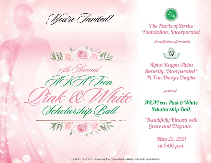 AKATeen Pink and White Scholarship Ball image
