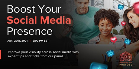 Boost Your Social Media Presence! tickets