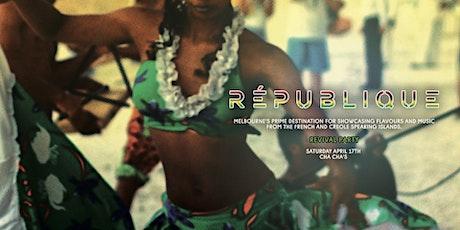 République Revival Party tickets
