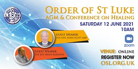 AGM & Conference on Healing tickets