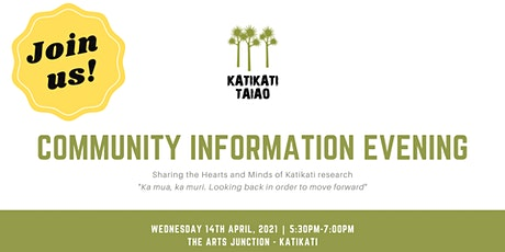 Community Information Evening tickets