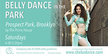 Bellydance in the Park - Brooklyn tickets
