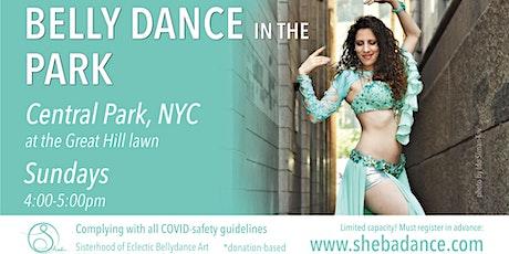 Bellydance in the Park - Manhattan tickets