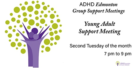 ADHD Edmonton Young Adult Support Group tickets