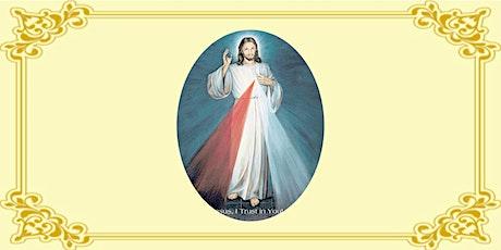 Divine Mercy prayers tickets