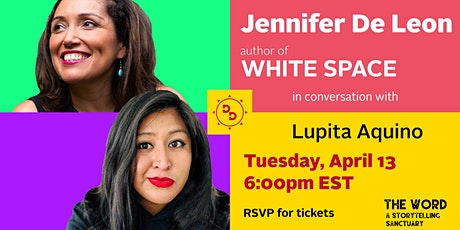 WHITE SPACE featuring Jennifer De Leon in conversation with Lupita Aquino tickets