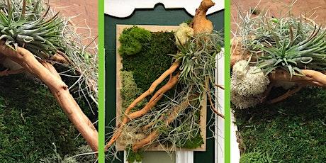 Moss art in frame workshop tickets