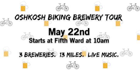 Oshkosh Biking Brewery Tour tickets