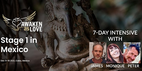 Awaken as Love Stage 1 Training in Cabo w/ James, Monique, & Peter entradas