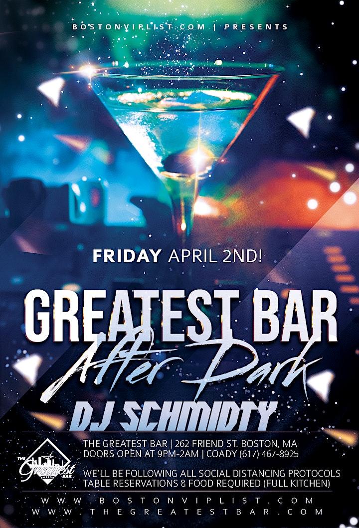 DJ SCHMIDTY | GREATEST BAR  AFTER DARK image