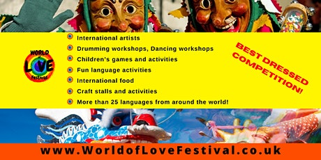 World of Love Festival: Celebration of Diversity of the World tickets
