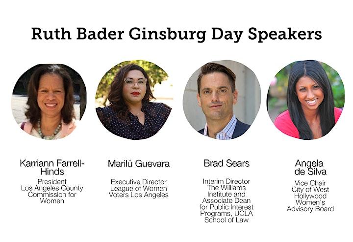 Ruth Bader Ginsburg Day Celebration! image