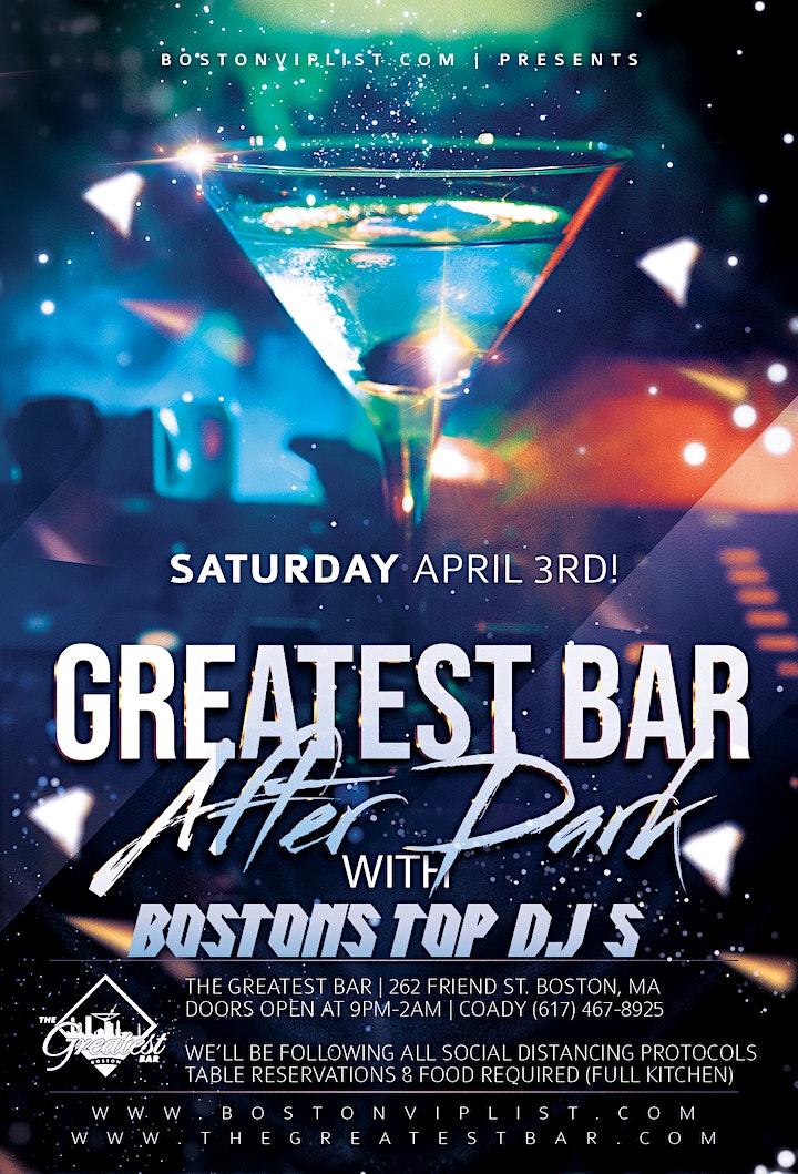 Boston's Best Dj's |  Saturday @ GREATEST BAR image