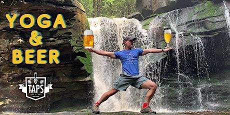 Taps presents - Outdoor Yoga & Beer Event tickets