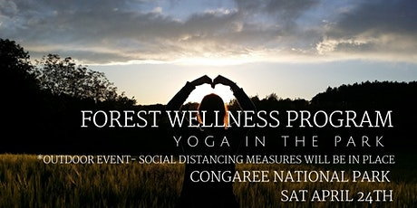 April Forest Wellness - Yoga in the Park tickets